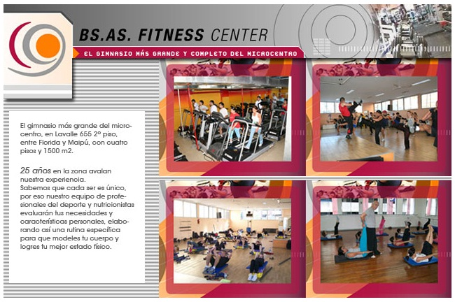 BS. AS. Fitness Center
